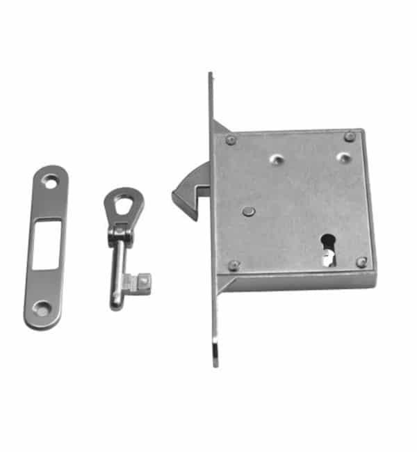Serratura csv per porte scorrevoli:foro chiave-entrata 50 mm