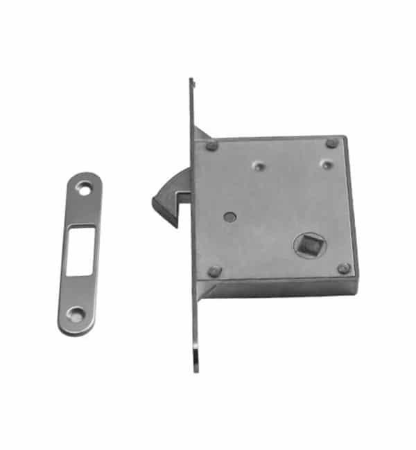 Serratura csv per porte scorrevoli: quadro 8mm - entrata 50mm